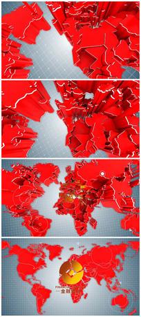 新闻金融logo视频模板
