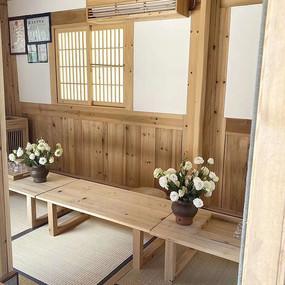 原木茶桌室内设计