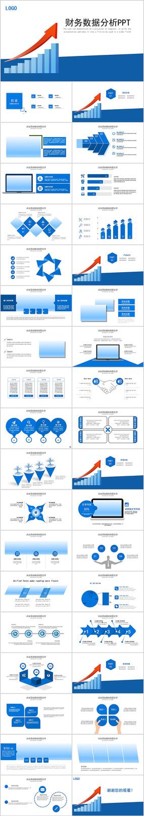 财务数据度财务数据分析报告PPT