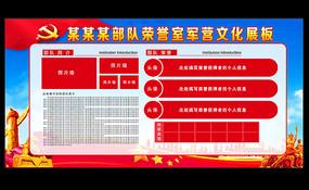 党员活动室党建荣誉墙