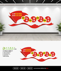 税务局国税局财政文化墙