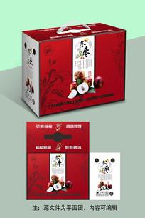 冬枣水果手提礼盒包装