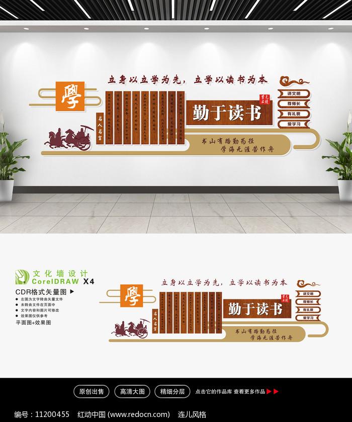 校园文化墙面设计图片