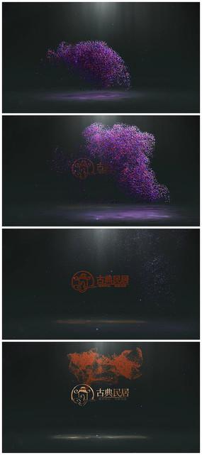 粒子logo演绎视频模板
