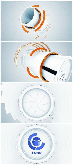 片头logo演绎视频模板