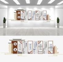 清廉廉政文化墙设计
