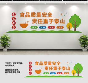 食品安全文化墙标语