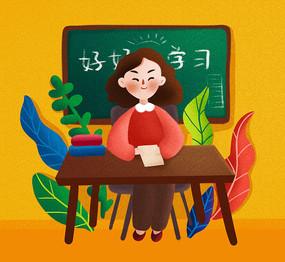 原创老师形象