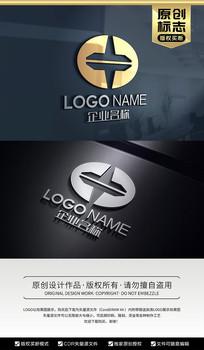 中字标志陀螺LOGO设计
