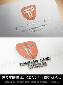 T字母logo标志T字母商标