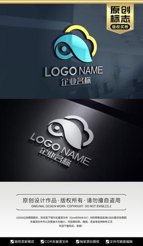 云科技云眼睛天眼标志logo