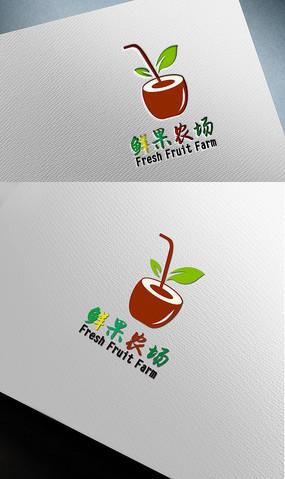 农业农产品鲜果农场logo设计