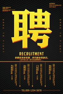 招聘广告海报设计