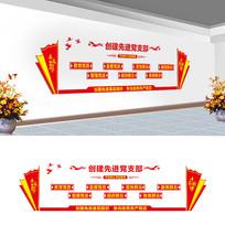党支部文化墙设计