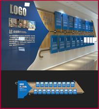 企业历史历程宣传文化墙设计