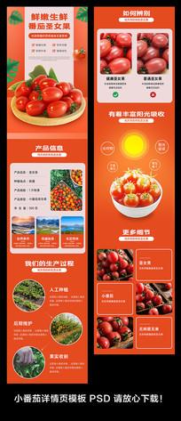 小番茄详情页模板