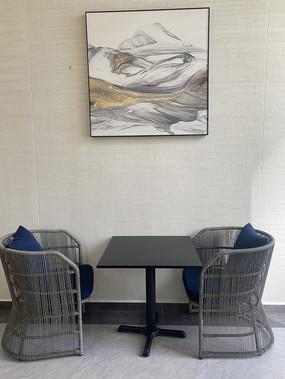 大堂室内休闲坐凳意向