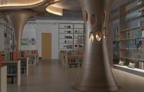 图书馆3D模型