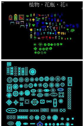 装修常用图库大全CAD图块图例