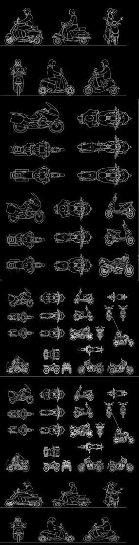 摩托车CAD图纸