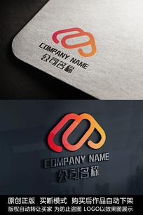 M字母logo标志M字母商标