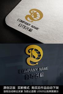 创意D字母logo标志D字母商标