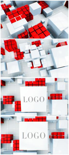 炫酷大气新闻片头logo视频模板