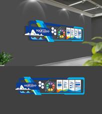 企业文化墙模板设计