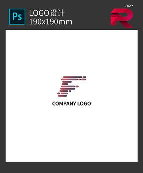 F字母LOGO设计