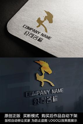 马logo标志大气商标设计 CDR