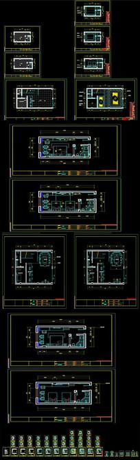 酒店布置CAD图纸