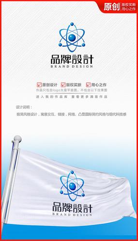 环球科技网络信息公司企业logo商标志