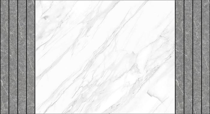 爵士白灰色石纹