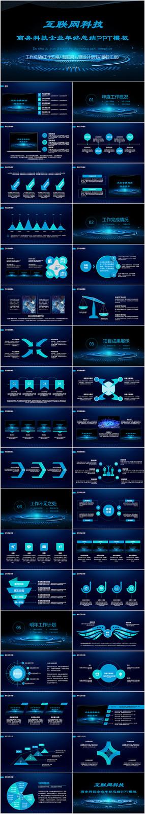 互联网科技ppt模板