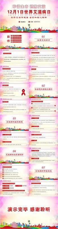 世界艾滋病日PPT