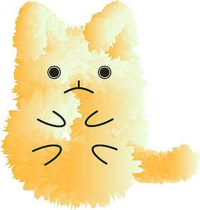毛绒绒小猫