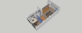 办公室SU模型