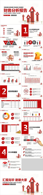 财务分析报告ppt