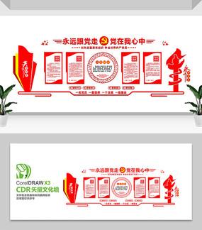 党员活动室党建文化墙设计