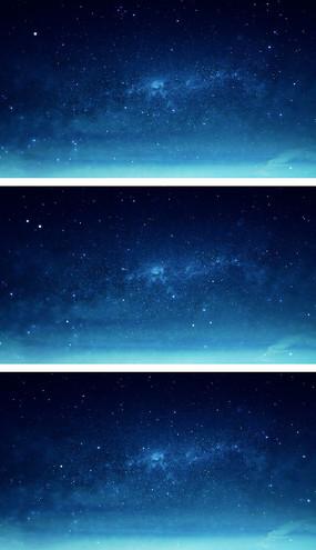 4K粒子宇宙星云星空穿梭视频素材