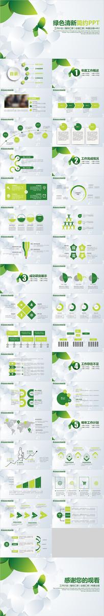 环保绿色工作计划ppt
