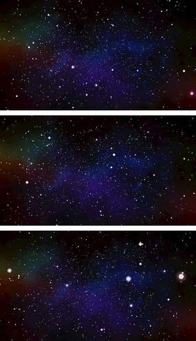 4K粒子星云星空視頻素材