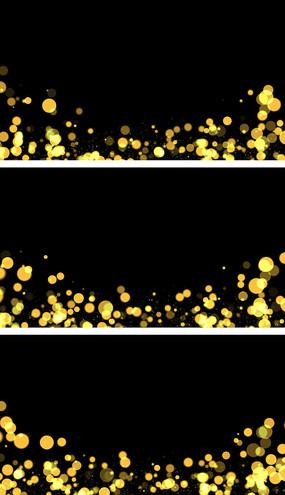 4K舞台粒子叠加柔美气氛视频素材