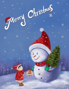 原创圣诞快乐海报