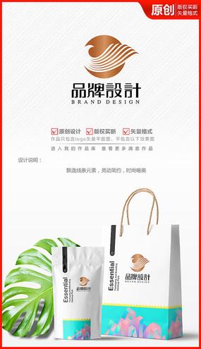 美容美发化妆品洗发水logo设计