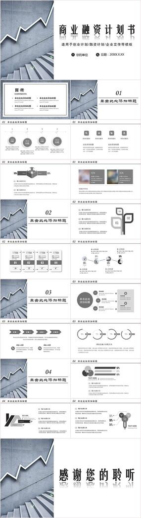 商业融资计划书PPT
