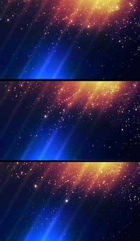 金色粒子闪烁飘落动态背景视频素材