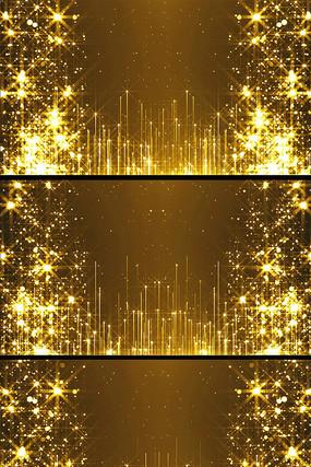 金色光点上升舞台背景视频素材