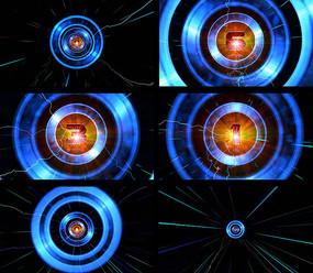 質感光環10秒開場倒計時視頻素材
