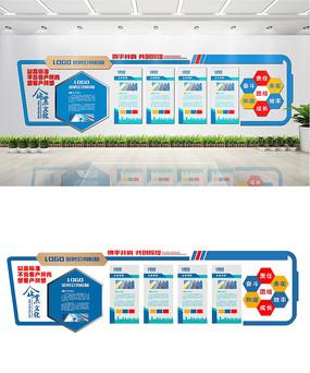 创意公司企业文化墙设计
